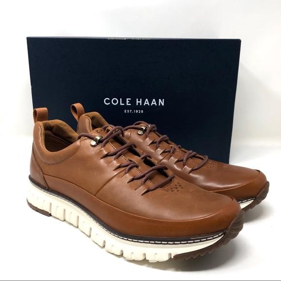 Cole Haan Zerogrand Rugged Oxford Tan